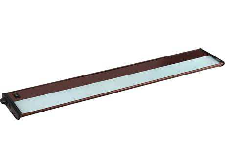 Maxim Lighting CounterMax MX-X12 Metallic Bronze Four-Light 30'' Long Xenon Under Cabinet Light Starter Kit