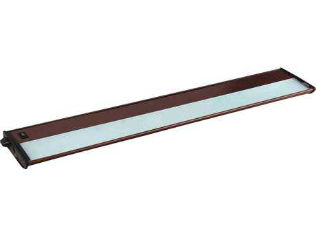 Maxim Lighting CounterMax MX-X12 Metallic Bronze Four-Light 30'' Long Xenon Under Cabinet Light Add On