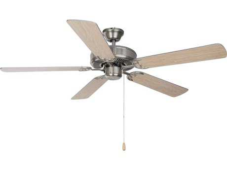 Maxim Lighting Basic Max Satin Nickel 52 Wide Indoor Ceiling Fan