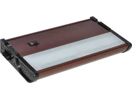 Maxim Lighting CounterMax MX-L120-DL Metallic Bronze & Clear Glass 7'' Long 2700K LED Under Cabinet Light