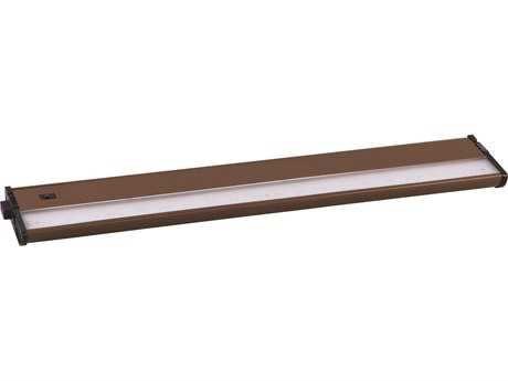 Maxim Lighting CounterMax MX-L120-DL Metallic Bronze & Clear Glass 21'' Long 2700K LED Under Cabinet Light