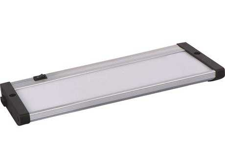 Maxim Lighting CounterMax MX-L120-EL Brushed Aluminum 10'' Long LED Under Cabinet Light