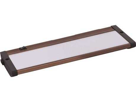 Maxim Lighting CounterMax MX-L120-EL Anodized Bronze 10'' Long LED Under Cabinet Light