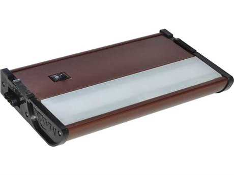 Maxim Lighting CounterMax MX-L120-DL Metallic Bronze & Clear Glass 7'' Long 3000K LED Under Cabinet Light
