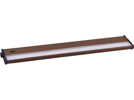 Maxim Lighting CounterMax MX-L120-DL Metallic Bronze & Clear Glass 21'' Long 3000K LED Under Cabinet Light