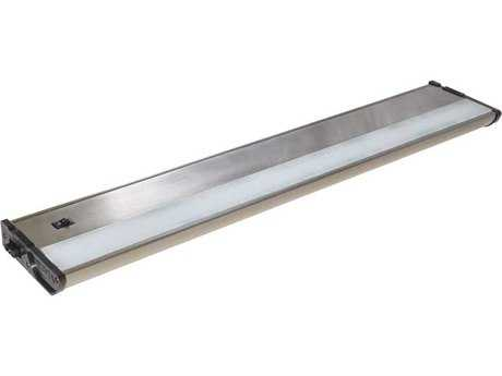 Maxim Lighting CounterMax MX-L120-DL Satin Nickel & Clear Glass 21'' Long 3000K LED Under Cabinet Light