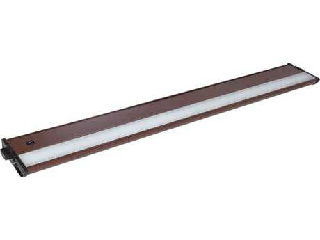 Maxim Lighting CounterMax MX-L120-DL Metallic Bronze & Clear Glass 30'' Long 3000K LED Under Cabinet Light