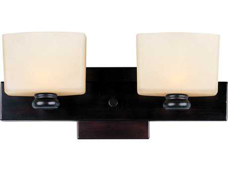 Maxim Lighting Essence Oil Rubbed Bronze Two-Light Vanity Light