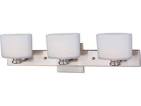 Maxim Lighting Essence Satin Nickel Three-Light Vanity Light
