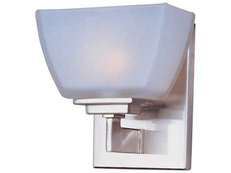 Maxim Lighting Angle Satin Nickel Vanity Light