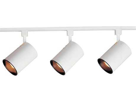 Maxim Lighting White Three-Light 48'' Wide Track Light
