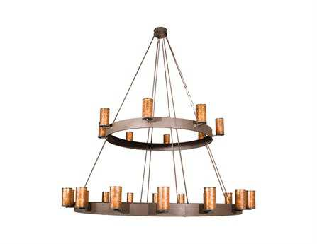Meyda Tiffany Cabela's 2 Tier 24-Light 165 Wide Grand Chandelier