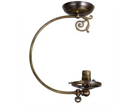 Meyda Tiffany Gas Reproduction Semi-Flush Mount Fitter