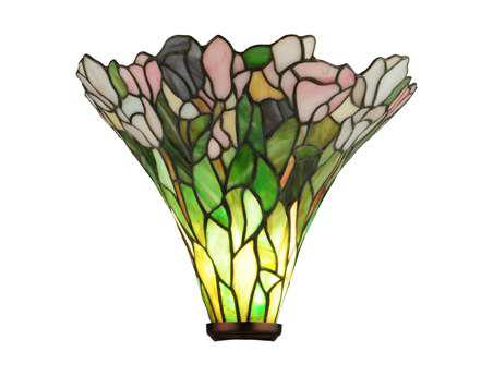 Meyda Tiffany Tulip Torchiere Shade