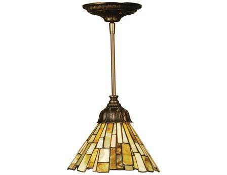 Meyda Tiffany Jadestone Delta Mini-Pendant Light