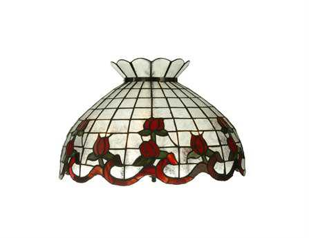 Meyda Tiffany Rose Border Five-Light Pendant Light