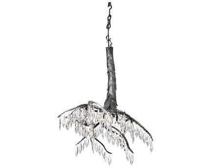 Meyda Tiffany Winter At Stillwater Crystal Mini 21 Wide Mini-Chandelier