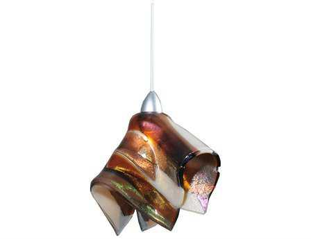 Meyda Tiffany Metro Fusion Marina Handkerchief Mini-Pendant Light