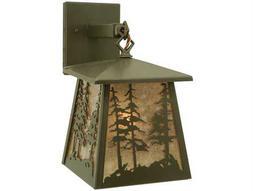 Meyda Tiffany Stillwater Tall Pines Hanging Outdoor Wall Light