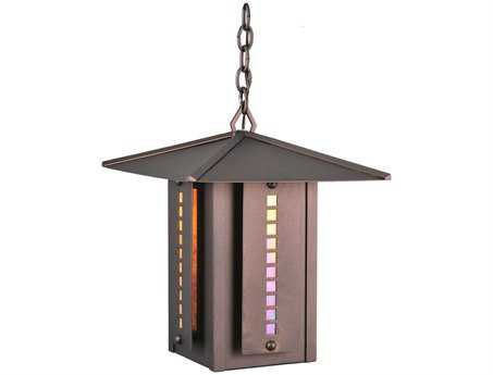 Meyda Tiffany Moss Creek Stepping Stone  Outdoor Hanging Light