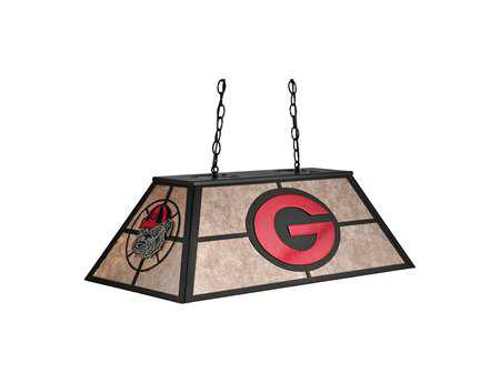 Meyda Tiffany Personalized Georgia Bulldogs Oblong Six-Light Pendant Light