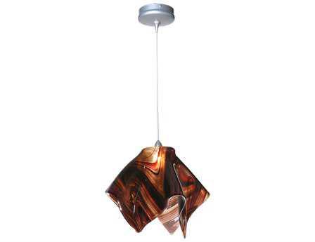 Meyda Tiffany Metro Cabernet Swirl Handkerchief Pendant Light