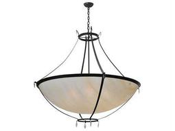 Meyda Tiffany Modesto Inverted Six-Light Pendant Light