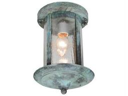 Meyda Tiffany Fulton Inverted Flush Mount Light