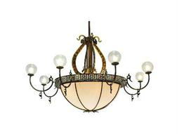 Meyda Tiffany Lyre 8 Arm 18-Light 96 Wide Grand Chandelier