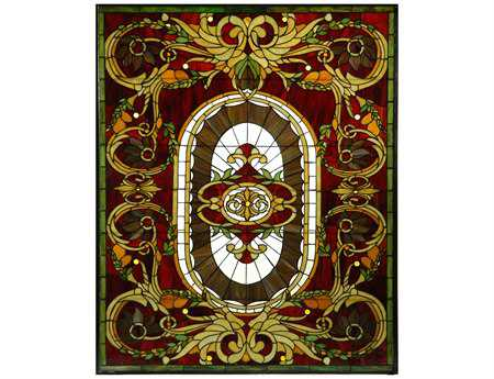 Meyda Tiffany Regal Splendor Stained Glass Window