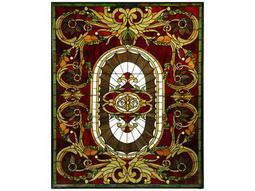 Meyda Tiffany Regal Splendor Stained Glass Window