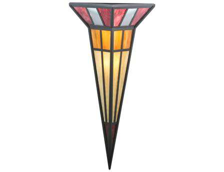 Meyda Tiffany Polaris Ii Two-Light Wall Sconce