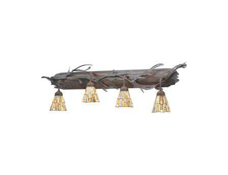Meyda Tiffany Jadestone Delta Four-Light Vanity Light