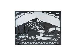 Meyda Tiffany Bear Creek Fireplace Screen