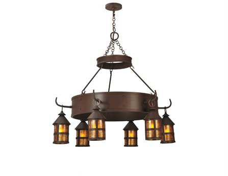 Meyda Tiffany Aberdeen Six-Light 47 Wide Grand Chandelier