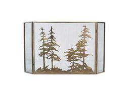 Meyda Tiffany Tall Pines Folding Fireplace Screen