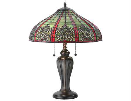 Meyda Tiffany Dublin Table Multi-Color Table Lamp