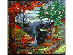 Meyda Tiffany River of Life Stained Glass Window
