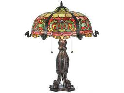 Meyda Tiffany Duffner & Kimberly Viking Multi-Color Buffet Lamp