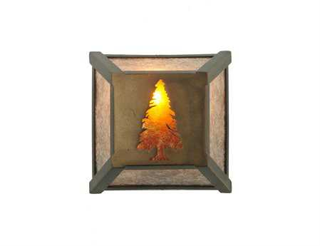 Meyda Tiffany Tall Pine Wall Sconce