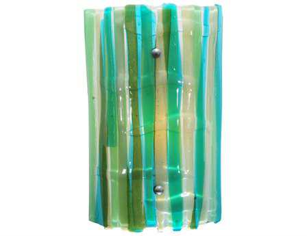 Meyda Tiffany La Spiaggia Fused Glass Wall Sconce