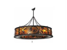 Meyda Tiffany Whispering Pines Eight-Light Chandel-Air