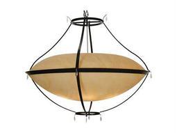 Meyda Tiffany Modesto Inverted Six-Light Pendant Light