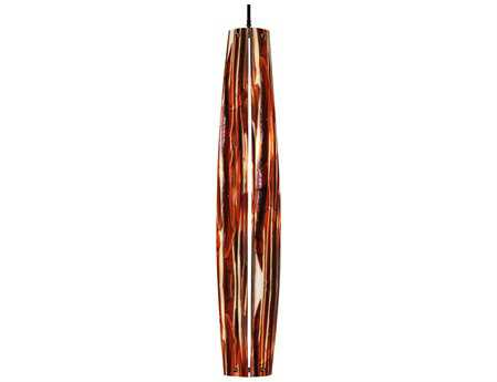 Meyda Tiffany Metro Fusion Marina Glass Mini-Pendant Light