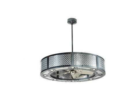 Meyda Tiffany Diamond Turbine Eight-Light Chandel-Air