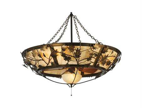 Meyda Tiffany Oak Branch 11-Light Chandel-Air