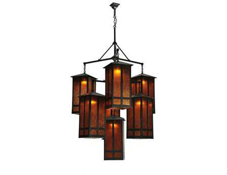 Meyda Tiffany Church Street Seven-Light 58 Wide Grand Chandelier