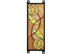 Meyda Tiffany Mackintosh Rose Stained Glass Window