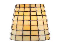 Meyda Tiffany Geometric Beige Shade