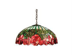 Meyda Tiffany Cabbage Rose Pendant Light